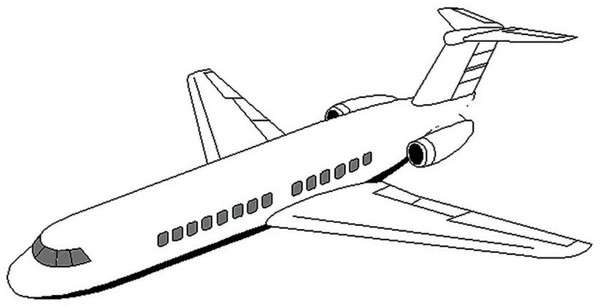 Boeing Kolorowanka