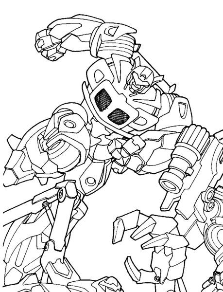 Kolorowanki Transformers Malowanki