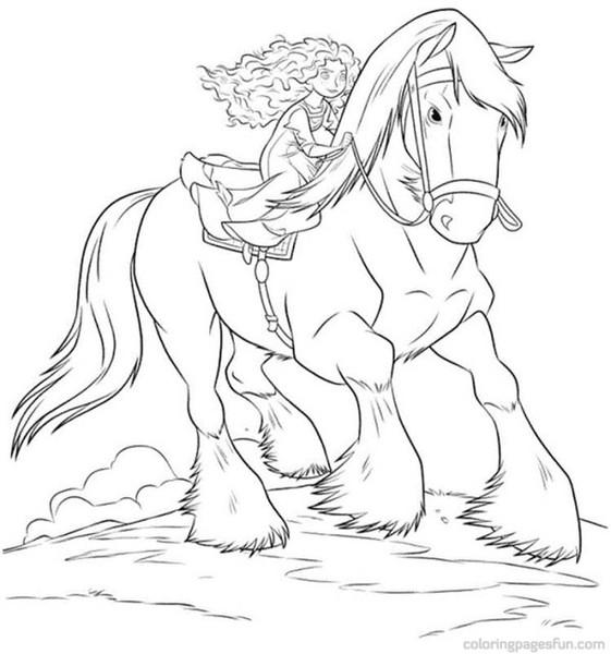 Kolorowanki Konie Malowanki