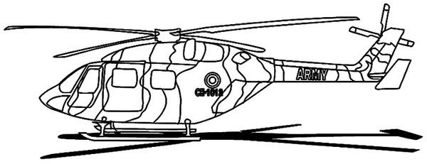 Helikopter Wojskowy Do Druku