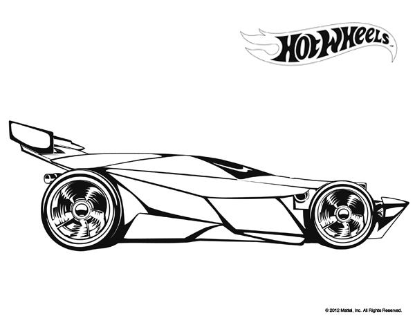 Kolorowanki 22 Hot Wheels