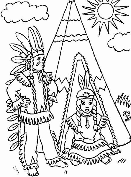 Indianie W Namiocie
