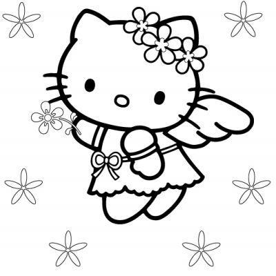 Hello Kitty Kolorowanka