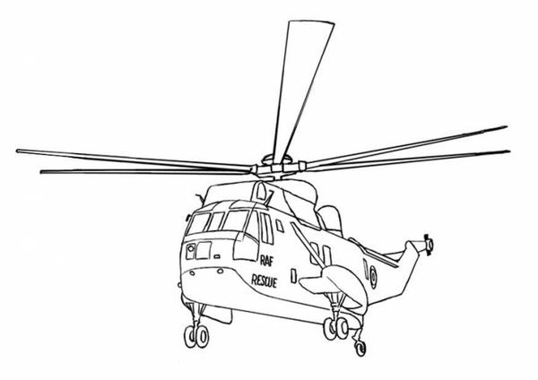 Kolorowanki Helikoptery Malowanki