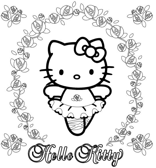 Hello Kitty Wesoly Kotek