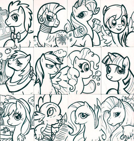 Kolorowanki My Little Pony Malowanki