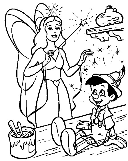 Wrozka I Pinokio