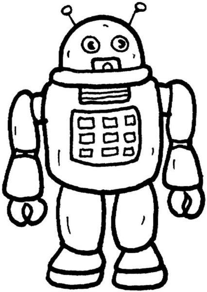 Kolorowanki Roboty Malowanki