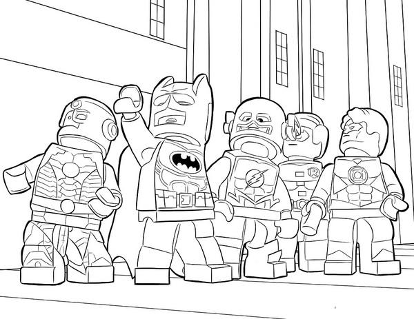 Lego Batman I Przyjaciele