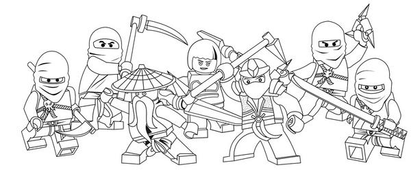 Lego Ninjago Do Drukowania