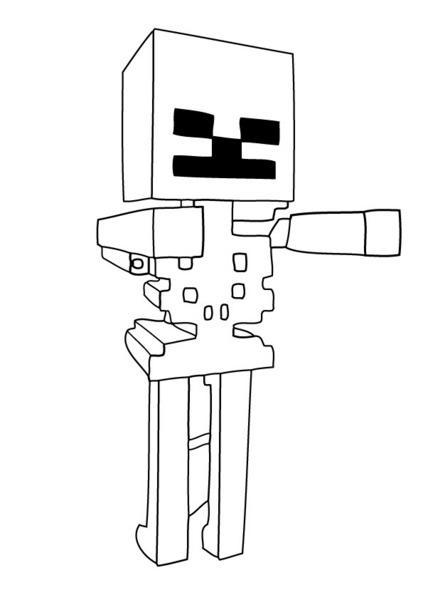 Kolorowanki Minecraft Malowanki
