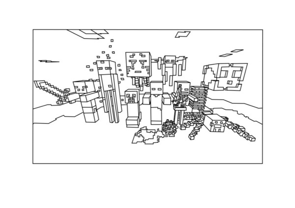 coloring pages minecraft stampylongnose halloween - photo#4
