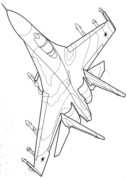Kolorowanki Samoloty Malowanki