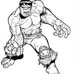 Kolorowanka Hulk dla dzieci