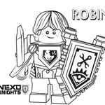 Nexo knights lego do druku